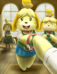 ...But You ARE Isabelle! (Animal Crossing) by Mewscaper