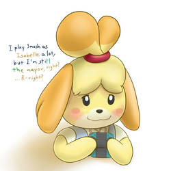 Play Smash, Become Isabelle by Mewscaper