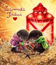 Maailman ihanin lahja/World's loveliest gift by StepiHukari
