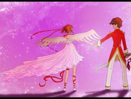 K: Sakura Syaoran by dotsweare