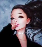 Ariana Grande by mollyillusion