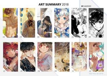 Art summary 2018 by AkiZero1510