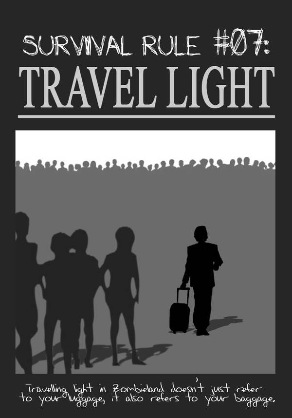Zombieland Rule 7: Travel by TheEnderling