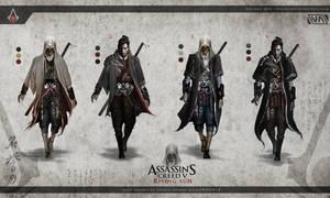 Assassin's Creed 5: Rising Sun - Assassin Variants by TheEnderling