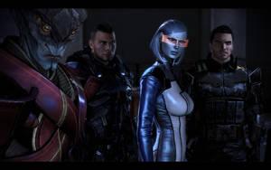 Stand strong, stand together /w Kaidan by donabruja
