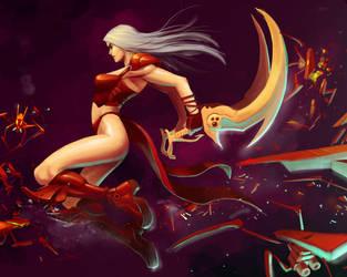purple r red by Reza-ilyasa