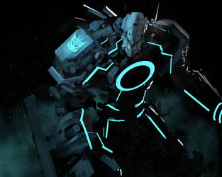 megaTRON scrap by Reza-ilyasa