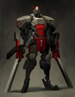 ICHIDO Samurai foot soldier by Reza-ilyasa