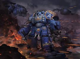 Space Marine Centurion by Reza-ilyasa