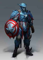 Captain America by Reza-ilyasa