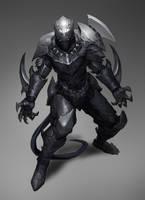 Black Panther by Reza-ilyasa