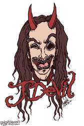 J Devil (Korn's Jonathan Davis) Contest Entry by GenghisKrahn