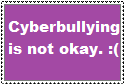Anti Cyberbullying Stamp by jlj16