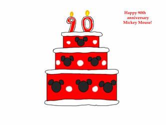 Mickey's Cake by jlj16