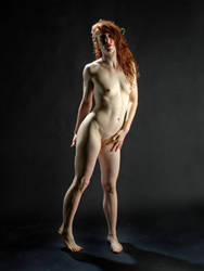 0290 The Red Widow Nude by artonline