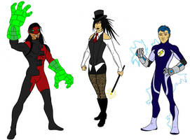 Young Heroes Amalgam 3 by tapwater86