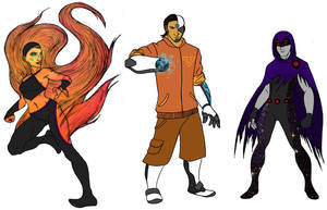 Young Heroes Amalgam 2 by tapwater86