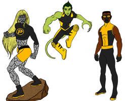 Young Heroes Amalgam 4 by tapwater86