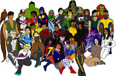 Generation Marvel by tapwater86