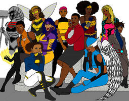 Black Women of DC by tapwater86