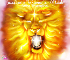 138 The Lion of Judah is on Fire with Light and he by TheHolySpiritSpeaks