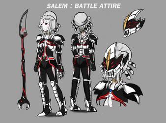 RWBY : Salem Battle Outfit Design by Dimitri100