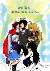 RWBY : Meeting in Heaven by Dimitri100