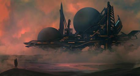 Desert Refinery by TacoSauceNinja