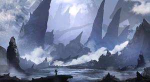 The Frozen Tundra Of Arbistoma by TacoSauceNinja
