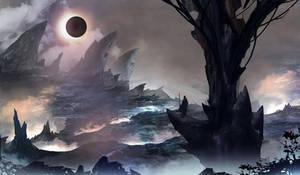 darkening sun by TacoSauceNinja