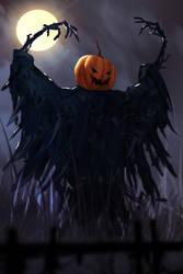 The Pumpkin Man by TacoSauceNinja