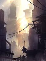 Morning Smoke by TacoSauceNinja