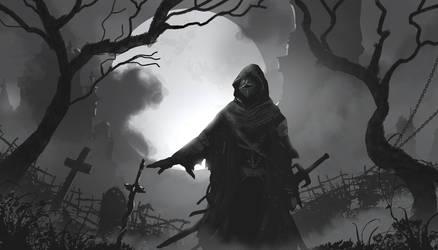 Fallen Knight by TacoSauceNinja
