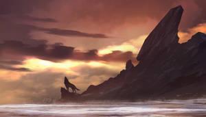 Wolf Island by TacoSauceNinja