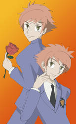 The Twins of Ouran by jokerjester77