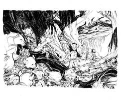 THE FOREST_commission by EricCanete
