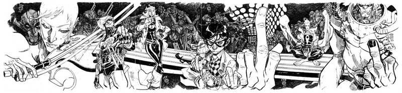 UMBRELLA ACADEMY says, 'FAH-Q' by EricCanete