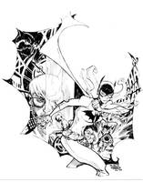 BATGIRL_commission by EricCanete