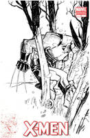 WOLVERINE_sketch cover by EricCanete