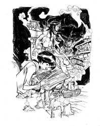 ATREYU_commission by EricCanete
