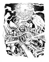VIKTOR VON DOOM_commission by EricCanete