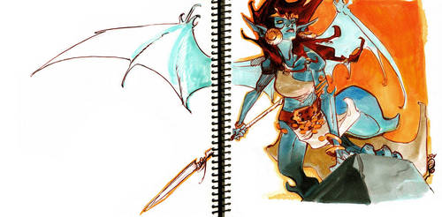DEMONA by EricCanete