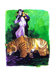 TIGER and LILLY by EricCanete