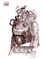 WONDERCON 2012 - METAL SUIT by EricCanete