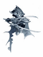WOMAN, BLADE by EricCanete