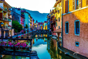 Colorful city by JCPicture