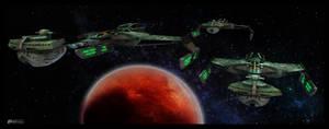 Klingon Warbirds by MotoTsume