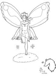 Lilly Angel of the Heavens by Mexican-Lobo