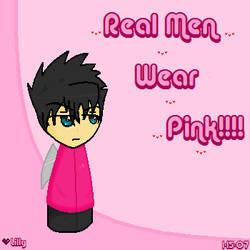 Demon: Real Men Wear Pink by Mexican-Lobo