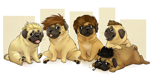 Pug Life by AeroSocks